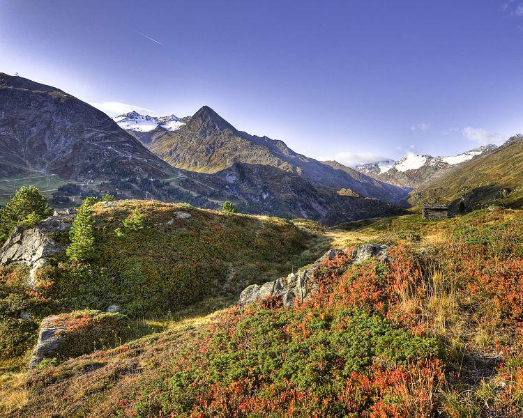 Klettersteig Obergurgl : Klettersteig schwärzenkam
